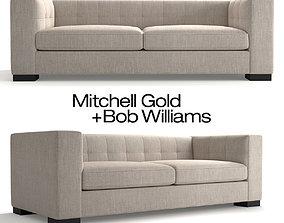 Mitchell Gold Bronson Sofa 3D model