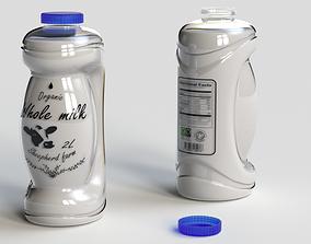 Milk bottle 2L 1st concept 3D model