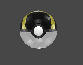 diy ultraball papercraft template and 3d model