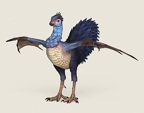 3D asset Game Ready Fantasy Hen