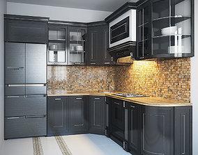 Kitchen Furniture IV 3D model