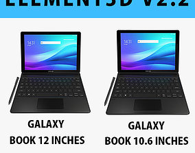 E3D - Samsung Galaxy Book 12 10 6 Collection 3D