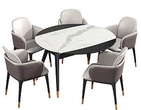 Dining Room Set 271 3D model