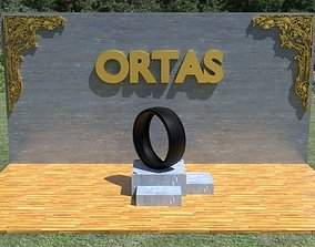 ORTAS TIRE NO 16 GAME READY 3D asset