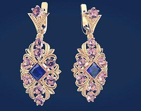 jewelry Earrings 6 3D printable model