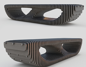 3D parametric bench marginal