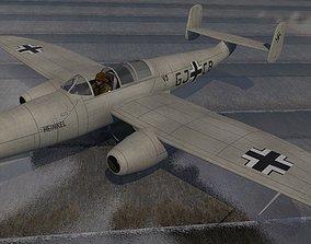 3D model Heinkel He-280A