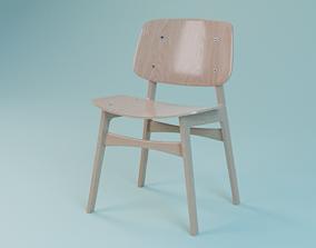 3D Soborg chair 3050