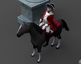SEVEN YEARS WAR Cavalery 3D asset