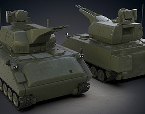 3D model Korkut Air Defense Weapon