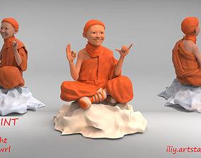 Little Buddhist Monk 3D printable model