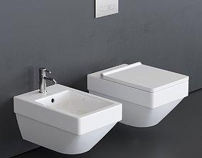Duravit Vero Air Wall-hung WC 3D model