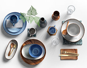 Tableware Set 5 3D model