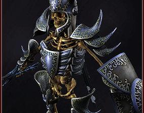 Skeleton Hero Captain 3D model