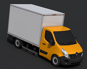 Renault Master Pickup 2018 3D model