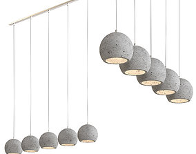 DELIFE - ceiling lamp 3D model