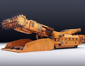 3D model Continuous Miner