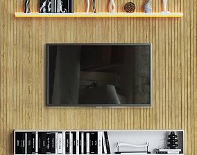 Tv Wall 4 3D model