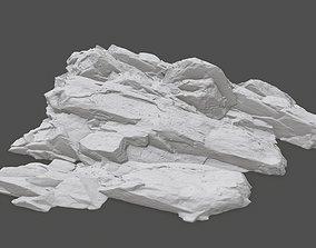 3D print model rock 30 desert