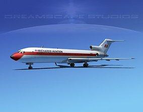 Boeing 727-200 Richards Aviation 3D model