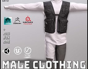 Male Clothing 3D asset