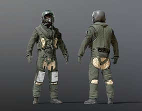 FLIGHT SUIT 90s Pilot 3D
