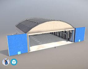 Airport Hangar1 UEEE 3D model
