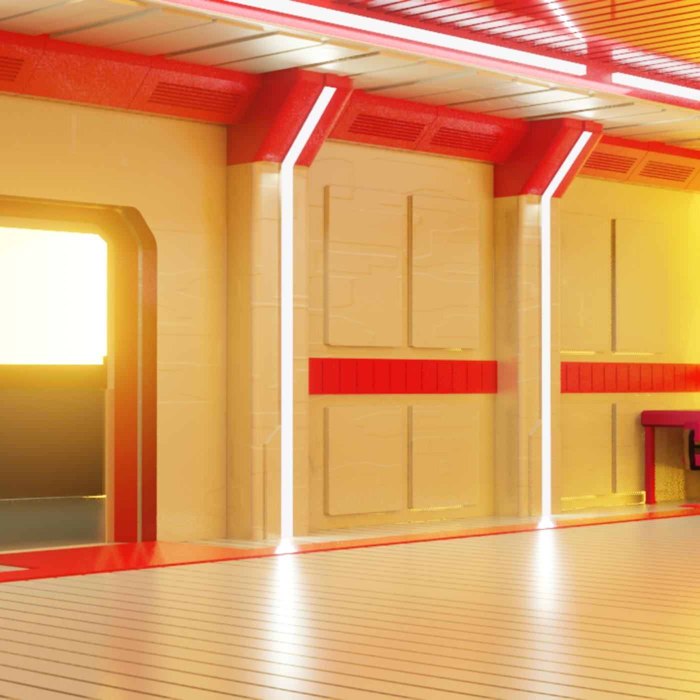 Sci Fi Apartment