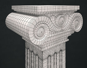 capital 3D printable model Column