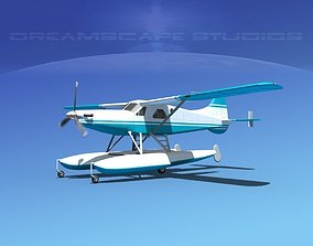 DeHavilland DHC-2 Turbo Beaver V02 3D model