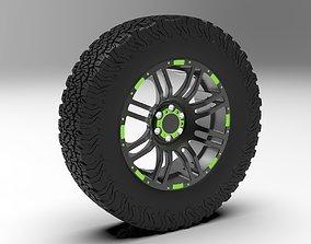 BFGoodrich with Wheel Rim 3D
