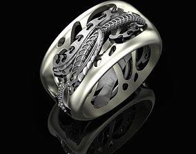 Biomechanical Ring 3D print model