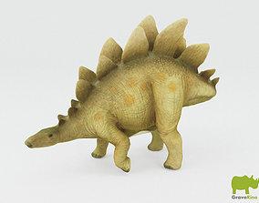 Schleich Toy Stegosaurus 3D Model