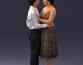realistic Couple 0620 3D Print Ready