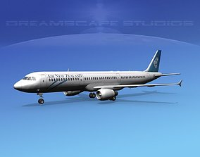 Airbus A321 Air New Zealand 3D