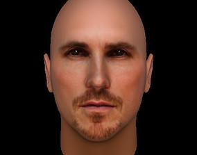 Christian Bale 3D model