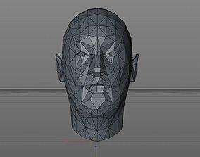 3D model Controllable face movements