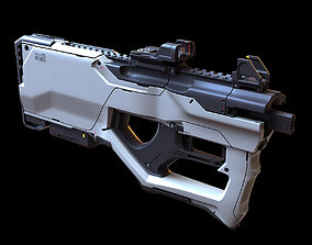 3D Concept sci fi weapon