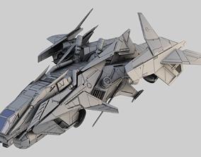 Space Ship Dragon 3D model