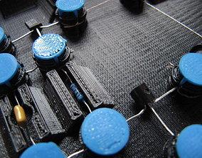3D-Printed Circuit Board v0 2