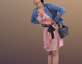 3D asset Yanelle 10382 - Standing Casual Woman