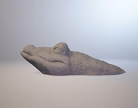 CROCODILE DOOR STOPPER 3D print model