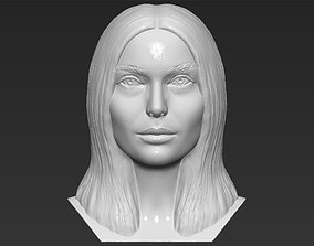 Natalie Portman bust 3D printing ready stl obj formats