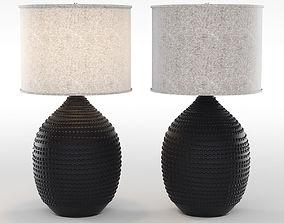 Noir cafe lamp 3D