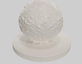 Lymphocyte cell 3D printable model