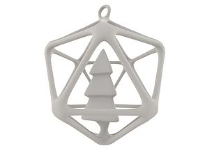 3D printable Christmasball printing