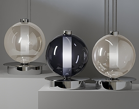 Cangini and Tucci ECLISSE BY PIETRO TUCCI Table Lamp 3D