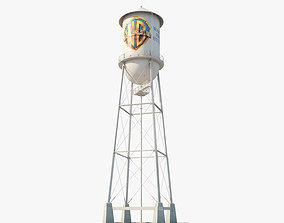 3D Warner Bros Water Tower
