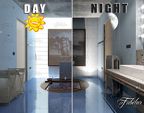Bathroom 62 Day - night 3D