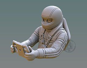 3D printable model Driver Bust